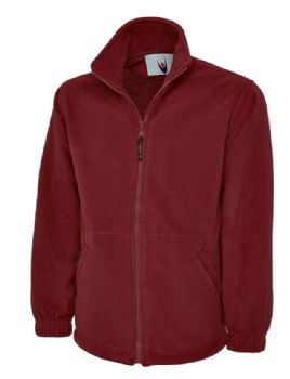 EMBROIDERED BOTTLE BURGUNDY FLEECE 3XL SALE